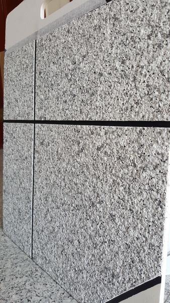 水包水仿石材涂料系列工程案例